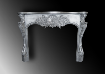 Zinc Fireplace Mantle- La Bastille