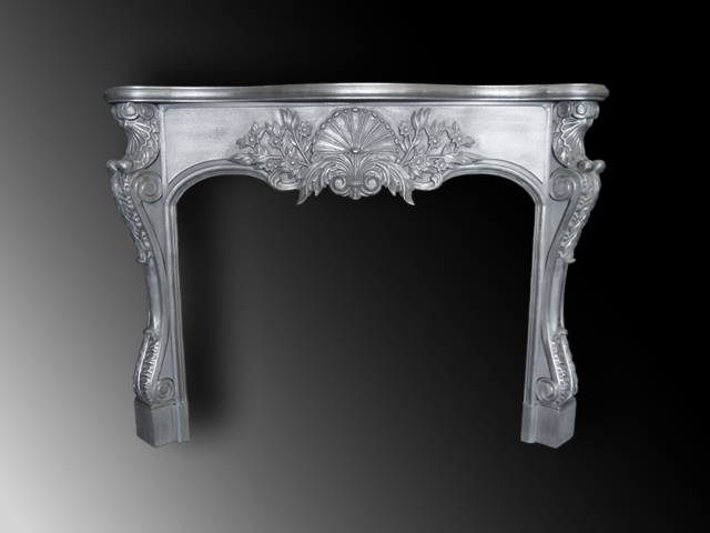 Cast Pewter Mantel - La Bastille