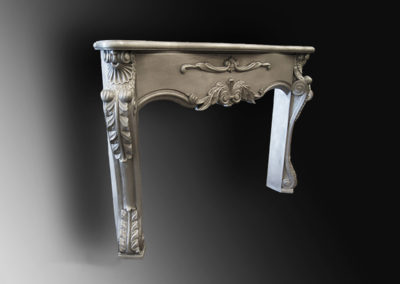 Zinc Fireplace Mantle - La Bastille
