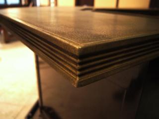 bronze countertops