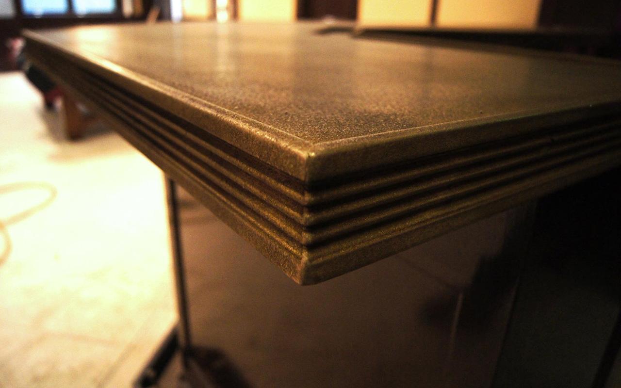 Cast Bronze Countertop - La Bastille