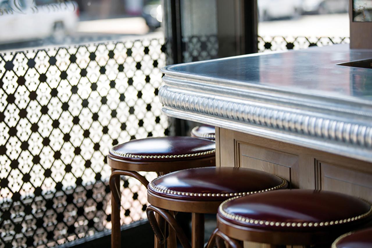 copper zinc metal kitchen pewter countertops countertop custom