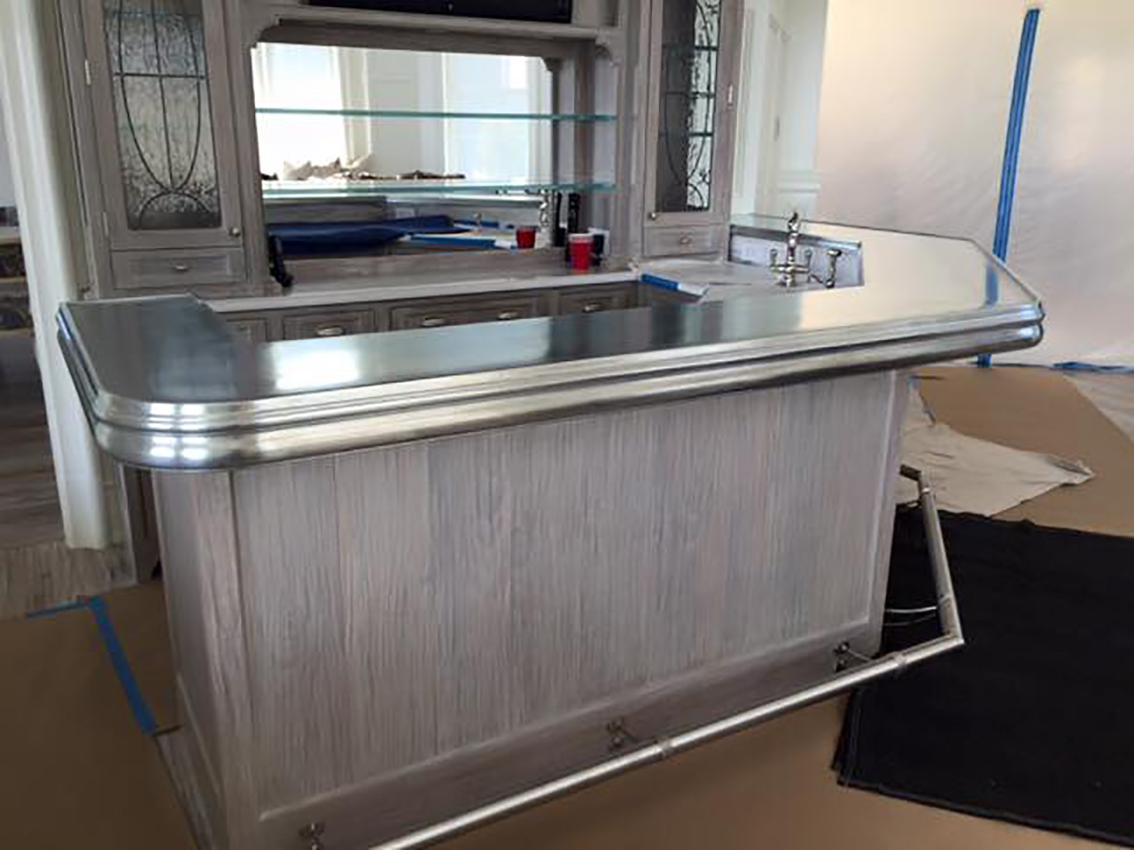 pewter countertops