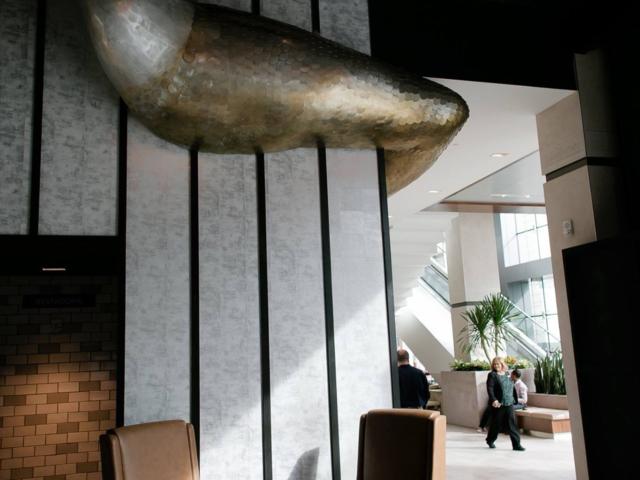 Cast and Sheet Zinc Mermaid Sculpture - La Bastille