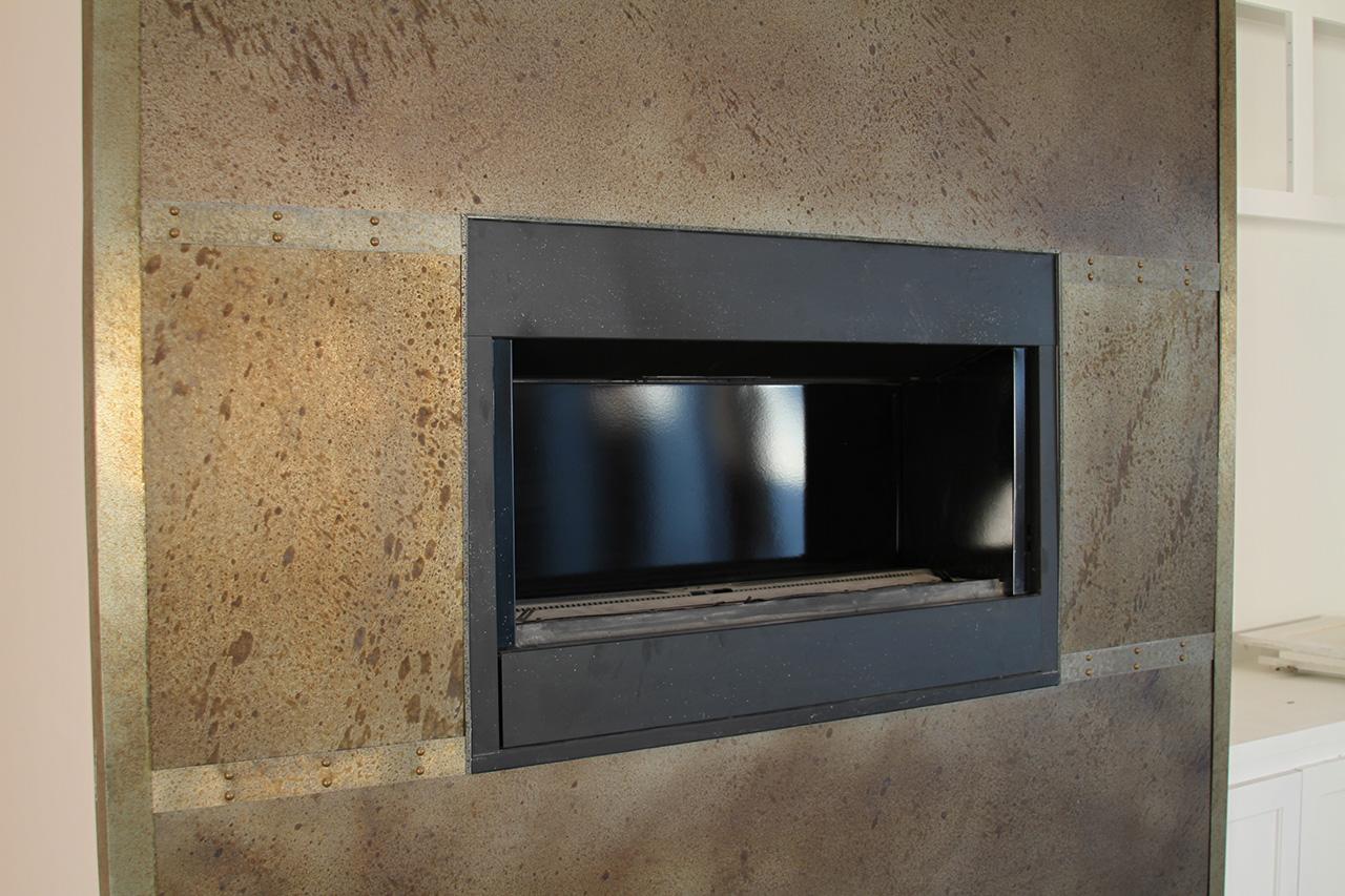 Sheet Zinc with Rivets Metal Wall Cladding - La Bastille