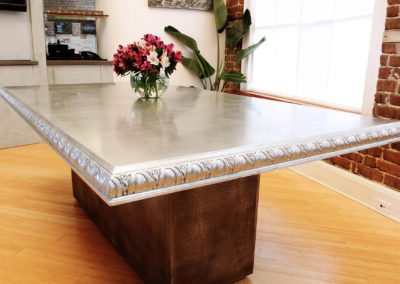 Zinc Table Top - La Bastille