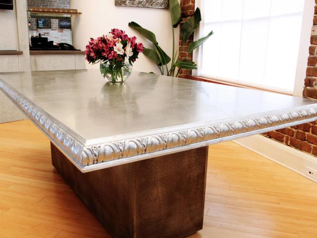 Pewter Table Top - La Bastille