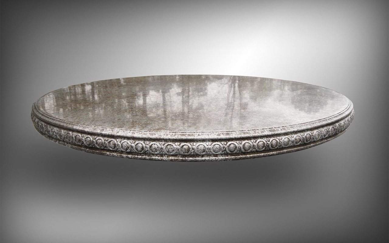 Cast Zinc Statement Table - La Bastille