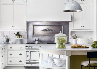 Zinc Backsplash- La Bastille