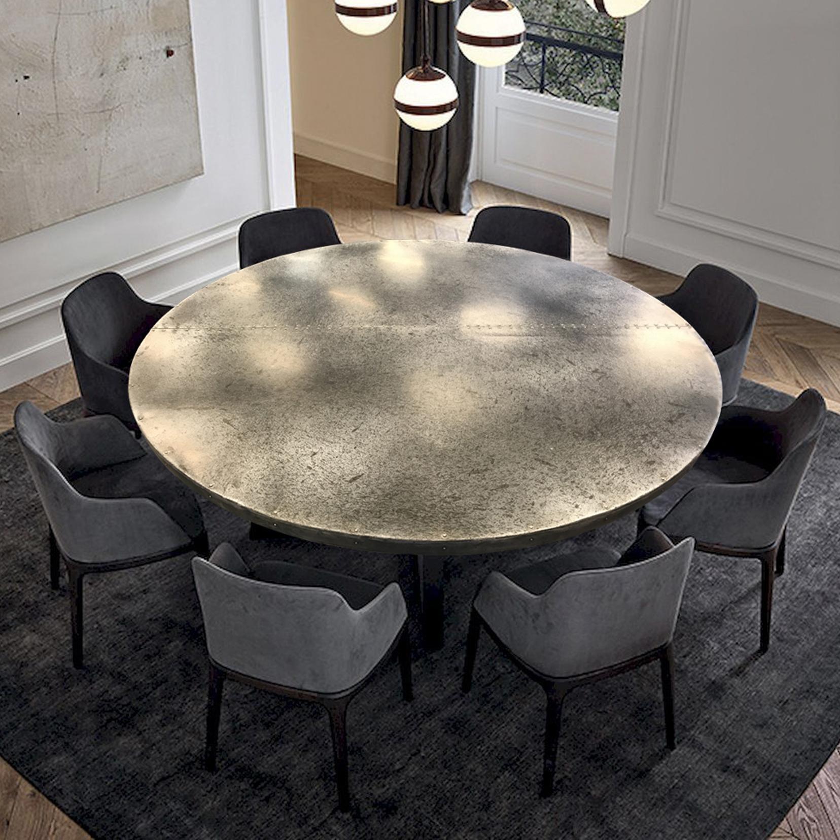 Zinc Table Top   La Bastille