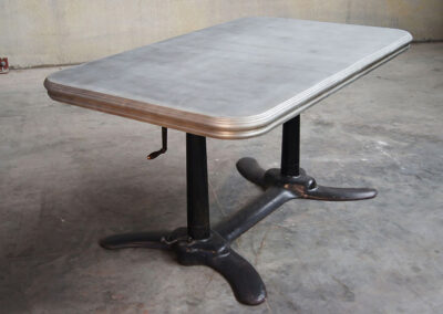 Zinc Dining Table - La Bastille