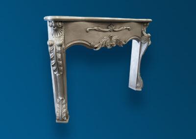 Zinc Fireplace Mantel - La Bastille