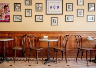 Zinc Bistro Tables - La Bastille